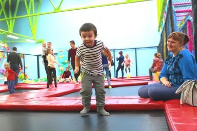 Детский спортивный батут в Лёсиках