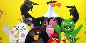 Комната Angry Birds